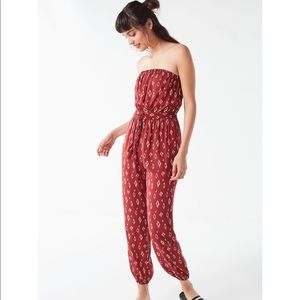 Urban Outfitters Strapless Jumpsuit